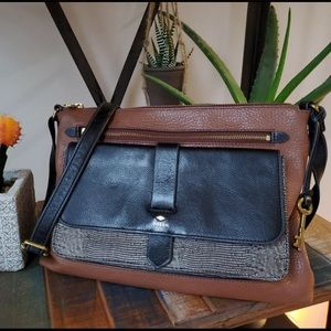 Fossil Kinley Leather Small Crossbody Purse